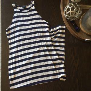 Nautical Maxi Dress.